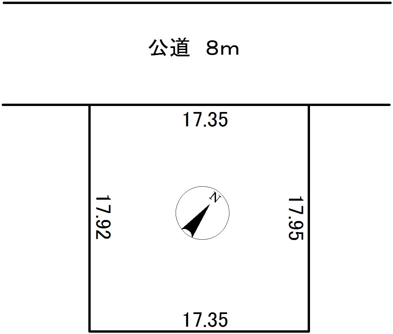広々住宅用地・地積311.17㎡(94.12坪)