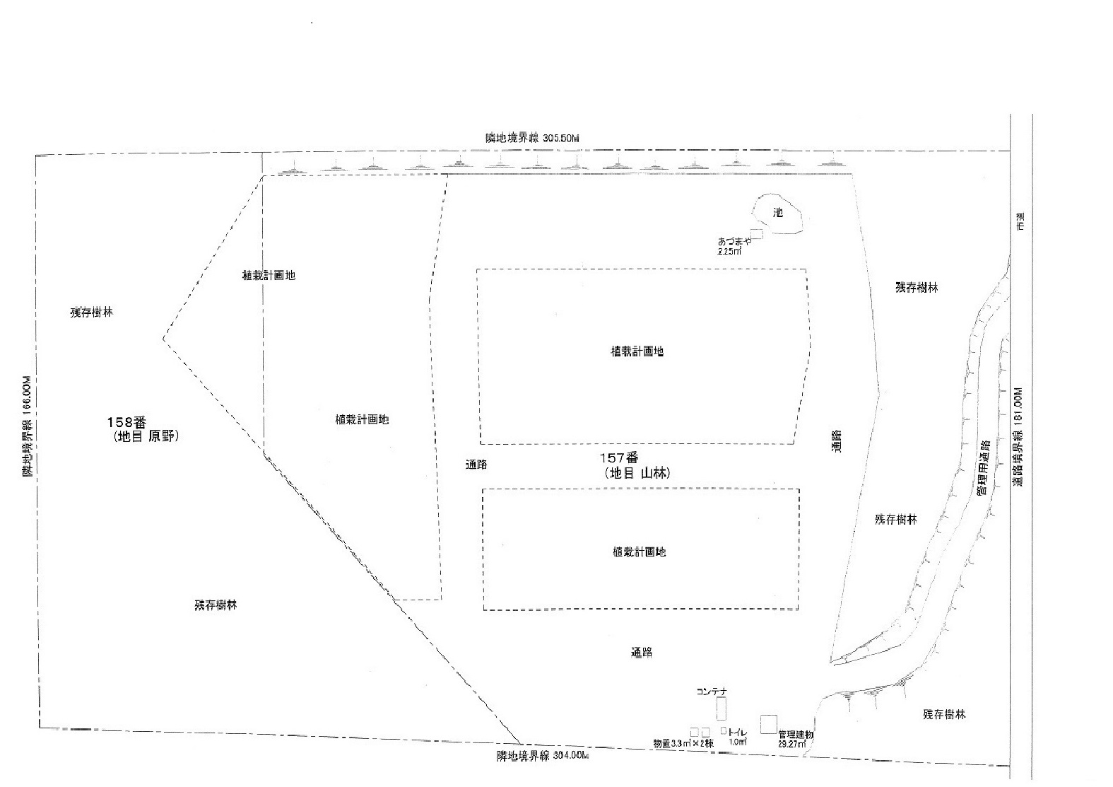市街化調整区域58,631㎡(17,735坪)