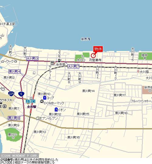 住宅・アパート用地/西向き・海近/3方角地